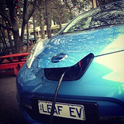 electric car charging point adelaide hills